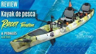 """Vídeo: Kayak de Aletas doble """"Racer Tandem"""""""