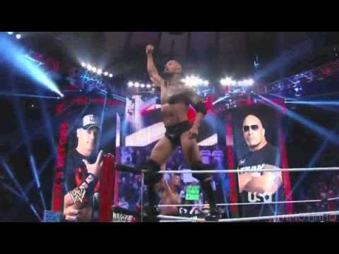 John Cena vs The Rock - We are young - Wrestlemania 28