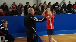 Valentina SABITOVA - Carole GRUNDISCH ETTU CUP Полуфинал, 2017/2018