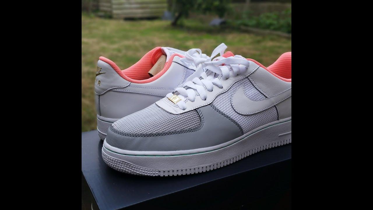 nikeid_QuickSchopes 003 - NikeID Air Force 1 Yeezy 2 Platinum - YouTube