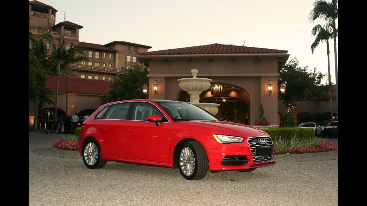 Charging The 2016 Audi A3 Sportback E Tron Electric Car