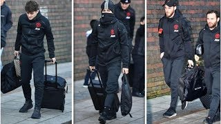 Man Utd squad confirmed for Arsenal clash as Solskjaer and co travel south, but no Pogba- transfe...