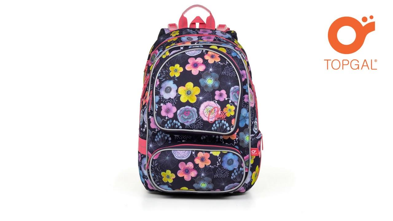 0b8312ada7 Školská taška Topgal ALLY1 7005 - YouTube