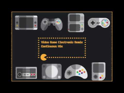 Video Game Electronic Remix Continuous Mix
