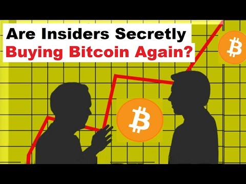 Are Insiders Secretly Buying Bitcoin Again?