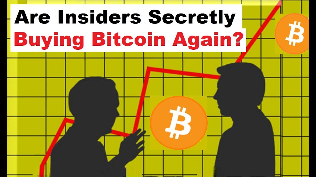Are insiders secretly buying bitcoin again youtube are insiders secretly buying bitcoin again ccuart Choice Image