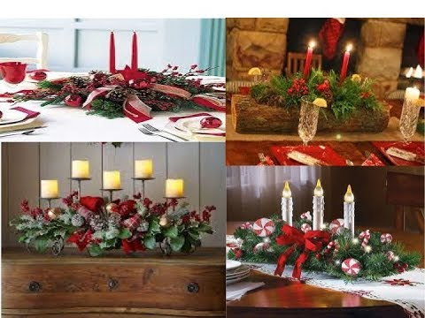 Centros de mesa para navidad how to do a christmas - Como adornar la mesa en navidad ...