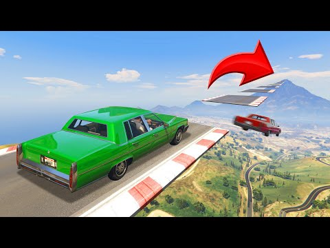 Make 500 JUMPS To FINISH! (GTA 5 Funny Moments)