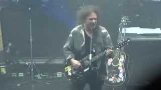 THE CURE - A MAN INSIDE MY MOUTH - LIVE LONDON @ APOLLO EVENTIM 21/12/2014