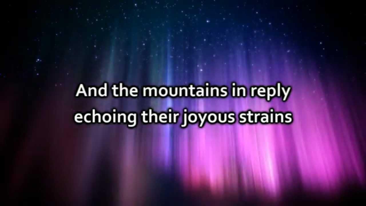 Hillsong - Gloria (Angels we have heard on high) - Lyrics - YouTube