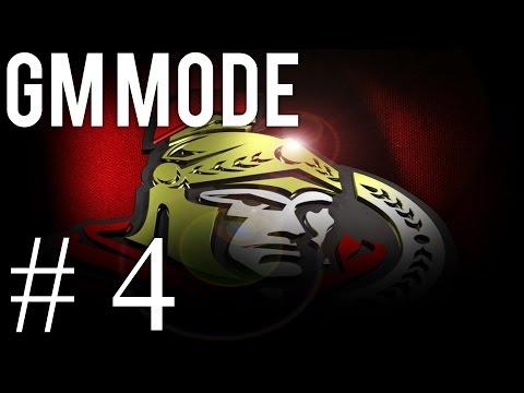 NHL 16 GM Ottawa Senators Ep 4-Offseason Draft Day/Resigning Players&Free Agents