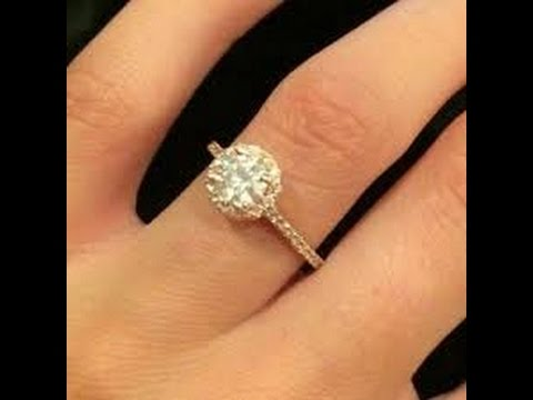 simple diamond rings for girls youtube