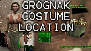 Grognak Costume in Hubris Comics - Better Strength and Melee in Fallout 4