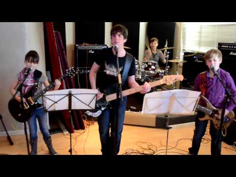 Kid Band 'Room 4' aged 9 to 14  Sound Of Madness cover by Shinedown at Newbury Rock School