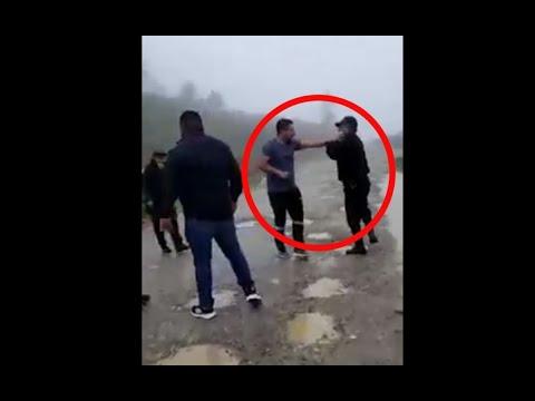 Investigan a personas que agredieron a PNC