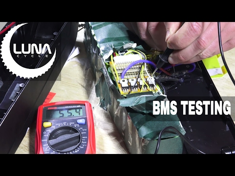 Luna Cycle Testing Bad BMS (Battery Management System) Testing 18650 Batteries