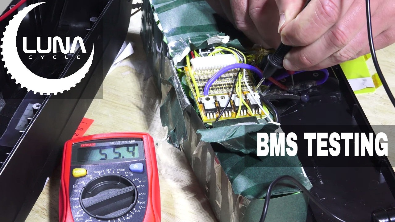 how to test and replace a bms on a battery  [ 1280 x 720 Pixel ]