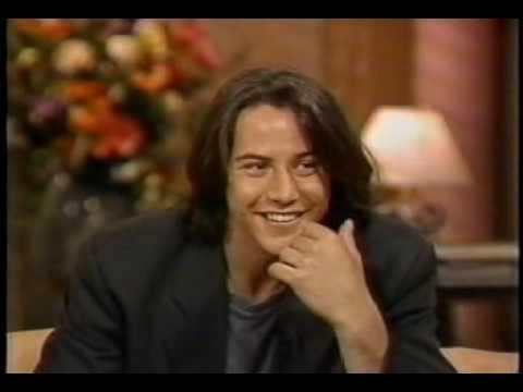 Keanu Reeves on Good Morning, America - 7/9/91