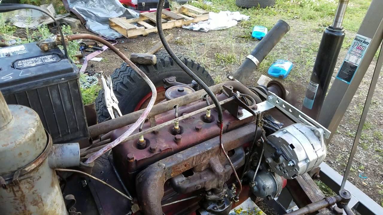 1942 Ford 2n  8n Runs After Complete Engine Rebuild
