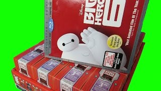 Big Hero 6 DVD + Disney Vinylmations Unboxing | Spiffy Toys Channel