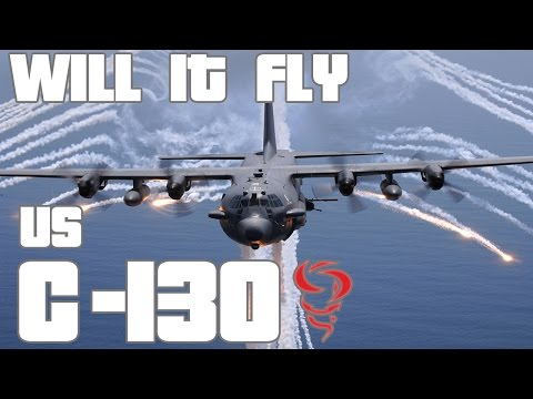 Simple Planes ★ C-130 ★ Will It Fly ★ Part 48