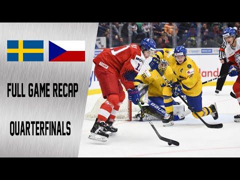Sweden vs Czech Republic Quarterfinals Highlights | January 2nd, WJC 2020