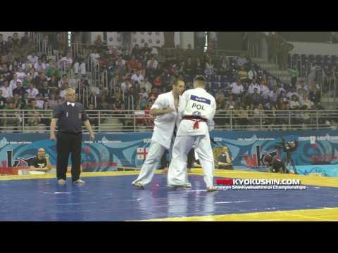 WKO EC 2016, Final +85 MaciejMazur (Poland, aka) - ValeriDimitrov (Bulgaria)