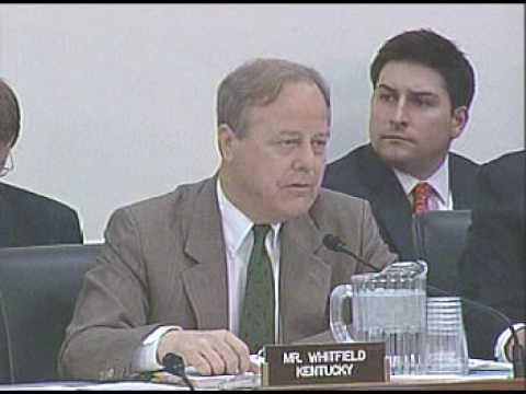 Congressman Whitfield Stands Up for Kentucky Coal