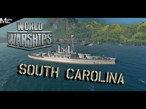 World of Warships #02 - South Carolina (Greek)