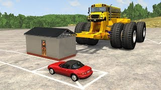 Gigantic Vehicles on Normal Roads - beamng