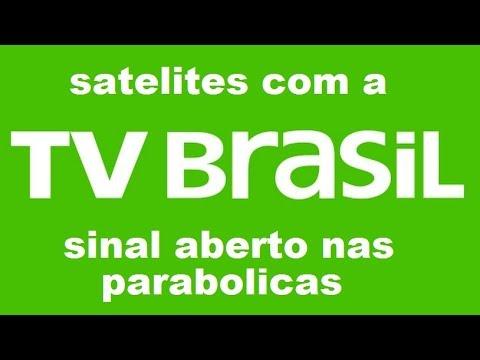 Satelites Com a TVBRASIL Sinal Aberto nas Parabolicas