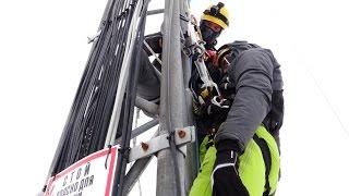 Правила работы на высоте при обслуживании антенно-мачтовых сооружений