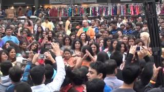 Flash Mob at Cary Diwali 2013