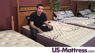 Spring Air Sleep Sense Hybrid Plus Level I Firm Mattress Expert Review with Jed