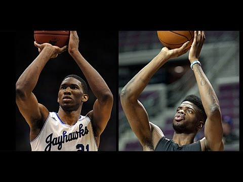 NBA 2K14 UBR Embiid vs. Noel - YouTube