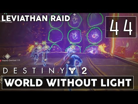 [44] World Without Light (Let's Play Destiny 2 [PS4 Pro] w/ GaLm) - Leviathan Raid