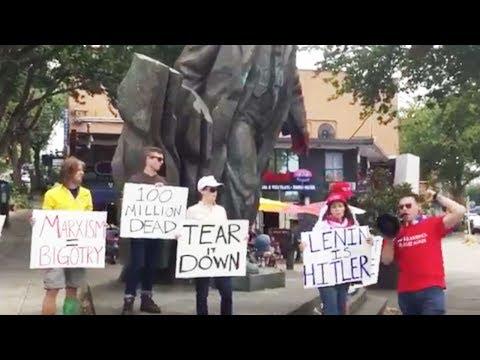 Alt-Right Statue Protest Just Sad