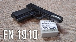 FN 1910 Pistol History and Shooting