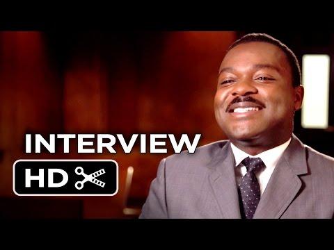 Selma Interview - David Oyelowo (2015) - Oprah Winfrey, Cuba Gooding Jr. Movie HD