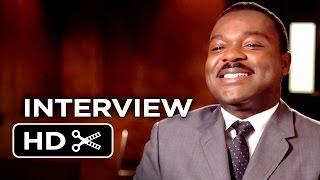 Selma Interview - David Oyelowo 2015 - Oprah Winfrey Cuba Gooding Jr Movie HD