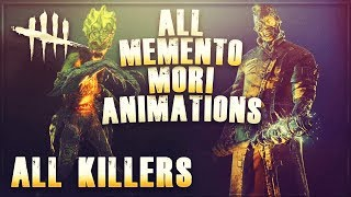 Dead by Daylight | All Memento Mori Animations | All Killers | Shattered Bloodline Update!