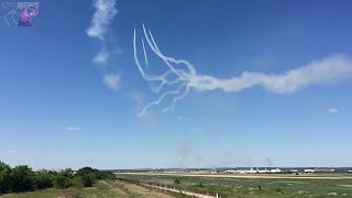 Ufo Overtakes Blue Angels At Full Vertical Climb Fort Worth Texas