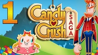Candy Crush Saga прохождение #1