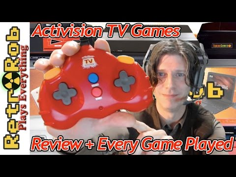 Activision TV Games Plug and Play: Possibly the First Official P&P!