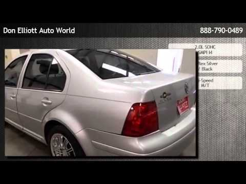 2001 Volkswagen Jetta Sedan GLS Manual - Eagle Lake
