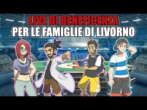 Pokémon Stadium 2 feat. Dario Moccia e Francesco Pardini - Beneficenza per Livorno
