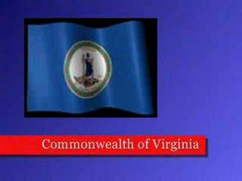 States of USA - Commonwealth of Virginia