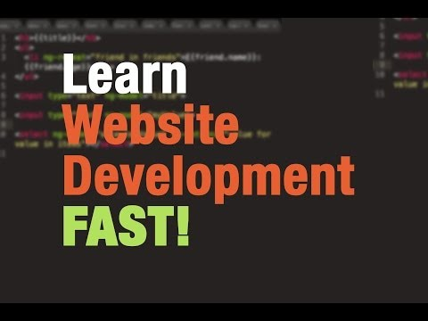 Web Development Tutorial for Beginners (#1) - How to build w