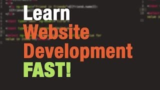 Web Development Tutorial For Beginners (#1)   How To Build Webpages With Html, Css, Javascript