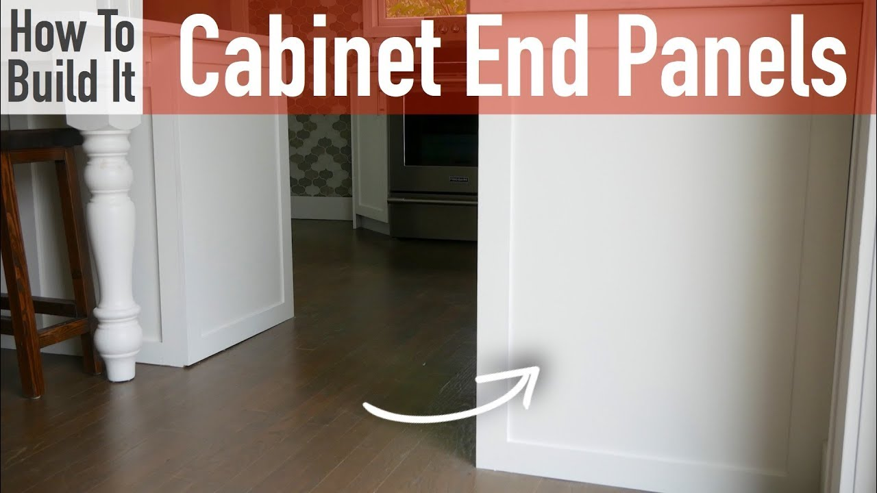 Diy Kitchen Cabinet End Panels